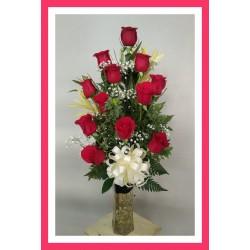Rosas en copon