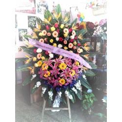 100 Rosas En Cesto